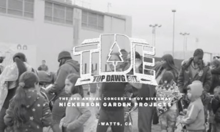 Nickerson gardens toy giveaways