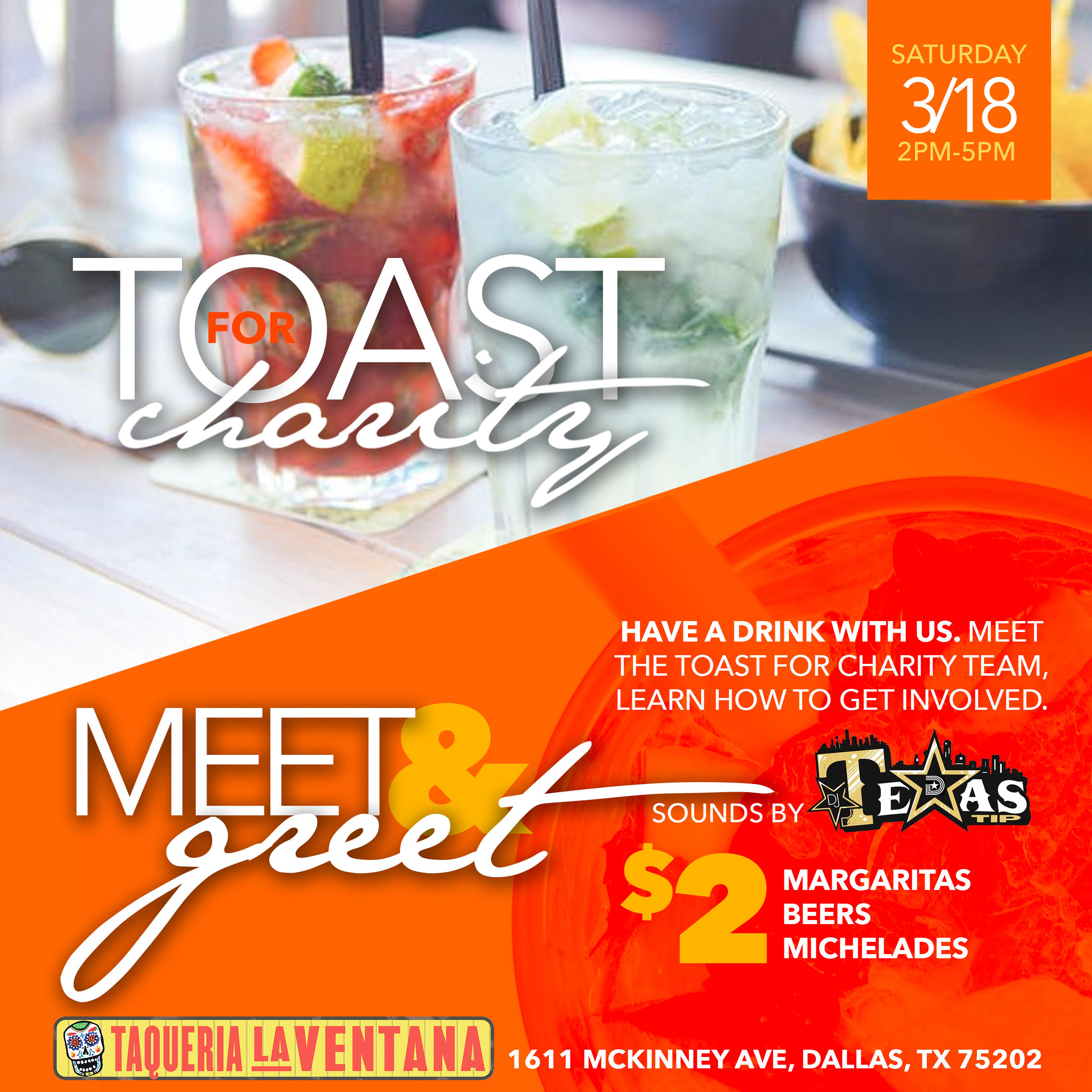 Toast For Charity Meet Greet The Culture Supplier