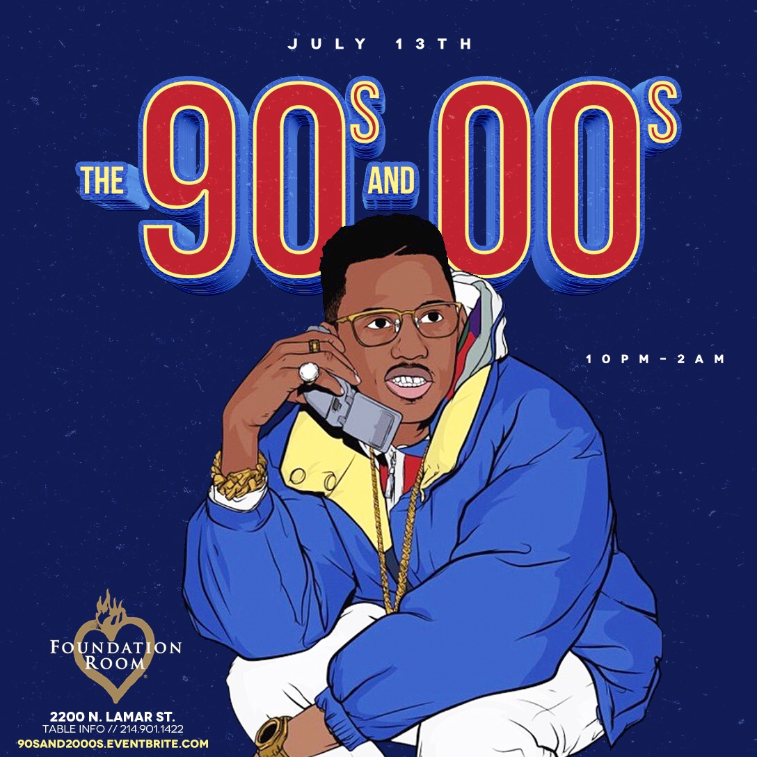 the 90s & 2000s at house of blues dallas » the culture supplier